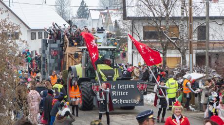 Am Faschingssamstag findet zum 20. Mal der Faschingsumzug in Untermühlhausen statt.