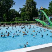 Das Landsberger Inselbad soll ab 2021 saniert werden.
