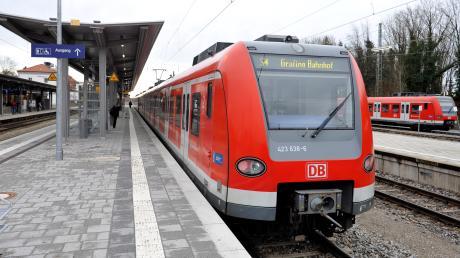 Bei Herrsching hat sich ein spektakulärer S-Bahn-Unfall ereignet. Verletzt wurde niemand.