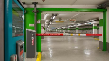 Wegen einer Zivilschutzprüfung bleibt die Schlossberggarage in Landsberg am Donnerstag für acht Stunden geschlossen.