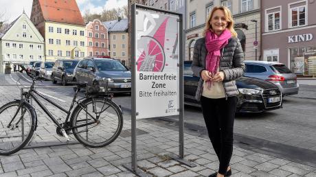 Doris Baumgartl könnte Landsberger Oberbürgermeisterin werden.