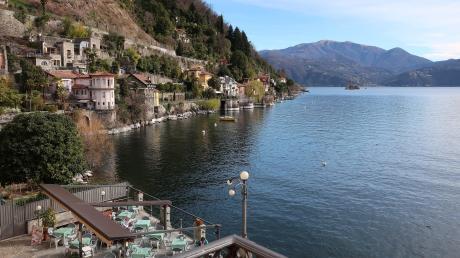 Cannero Riviera liegt malerisch am Lago Maggiore.