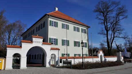 Das Rathaus in Windach.