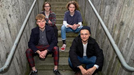 """""""A Story for Reflection"""" sind (von links) Maxi Aldinger (Keyboard), Veit Kobler (Bass), Anton Engelmann (Schlagzeug) und Jakob Muehleisen (Gitarre/Gesang)."""