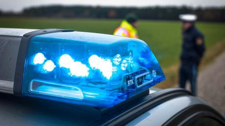 Bei einem Verkehrsunfall bei Pürgen wurde ein Pferd angefahren.