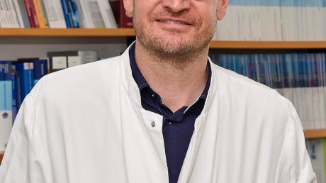 Dr. Ingo Mecklenburg ist Chefarzt der Inneren Medizin am Klinikum Landsberg.