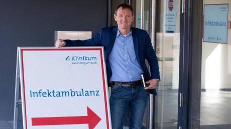 Dr. Markus Hüttl hat in Landsberg bereits eineInfektambulanz aufgebaut.