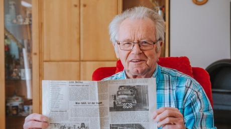 Paul Schmidhofer war 1981 am Klau des Landsberger Maibaums beteiligt. Die Aktion der Untermühlhauser Burschen erregte bundesweit Aufmerksamkeit, was vor allem an der Reaktion von Landsbergs damaligem Oberbürgermeister Hanns Hamberger gelegen hat.