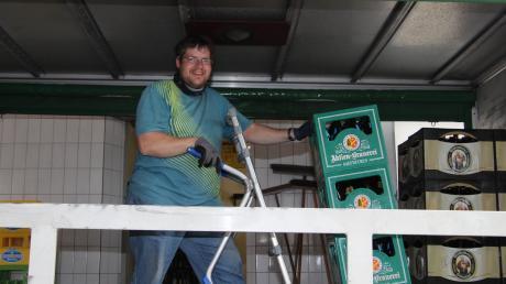 Der Getränkevertrieb in Leeder, den zuletzt Anton Frieß zusammen mit seinen Eltern führte, wird geschlossen.