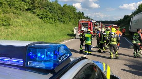 Tödlicher Unfall auf der B17 im Landsberger Westen.