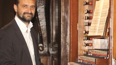 Stanislav Surin eröffnet den Landsberger Orgelsommer 2020.
