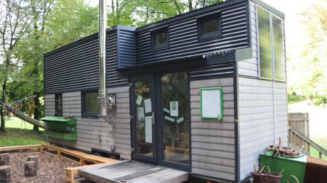 So sehen sogenannte Tiny-Häuser aus: Herbert Maier aus Schwifting möchte im Landkreis Landsberg eine ganze Siedlung gründen.
