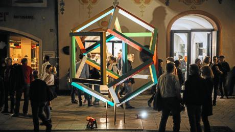 Die Landsberger Kunstnacht 2020 wird nicht in gewohnter Form stattfinden.