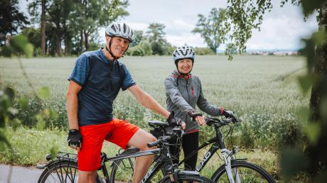 Werner und Rita Franz sind begeisterte Radfahrer. Bevor Werner Franz in den Ruhestand ging, legte er über 200.000 Kilometer auf dem Weg zur Arbeit und nach Hause zurück.