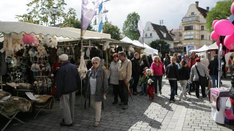 Der Gewerbeverein hat den Marktsonntag in Dießen abgesagt. Unser Foto zeigt die Veranstaltung im Jahr 2017.