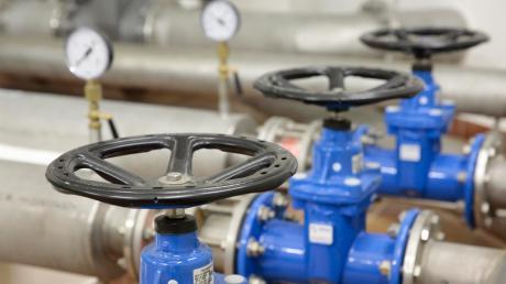 Die Gemeinde Windach will eine Notversorgung einrichten. Unser Foto entstand im Hochbehälter der Windacher Wasserversorgung.