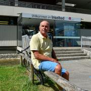 Inselbad Erich Schmid (Förderverein Lechufer und Strand beim Inselbad) ist mit dem Eintrittssystem nicht glücklich.