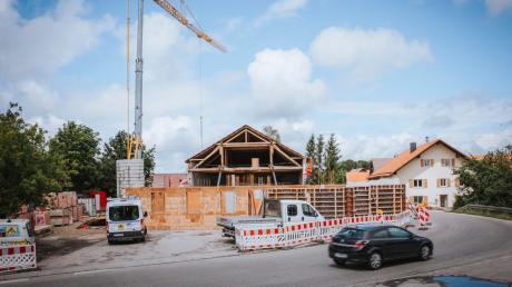 Für das künftige Dorfgemeinschaftshaus in Ludenhausen wird es eine zweite Zufahrt geben. Der Gemeinderat gab dafür seine Zustimmung.