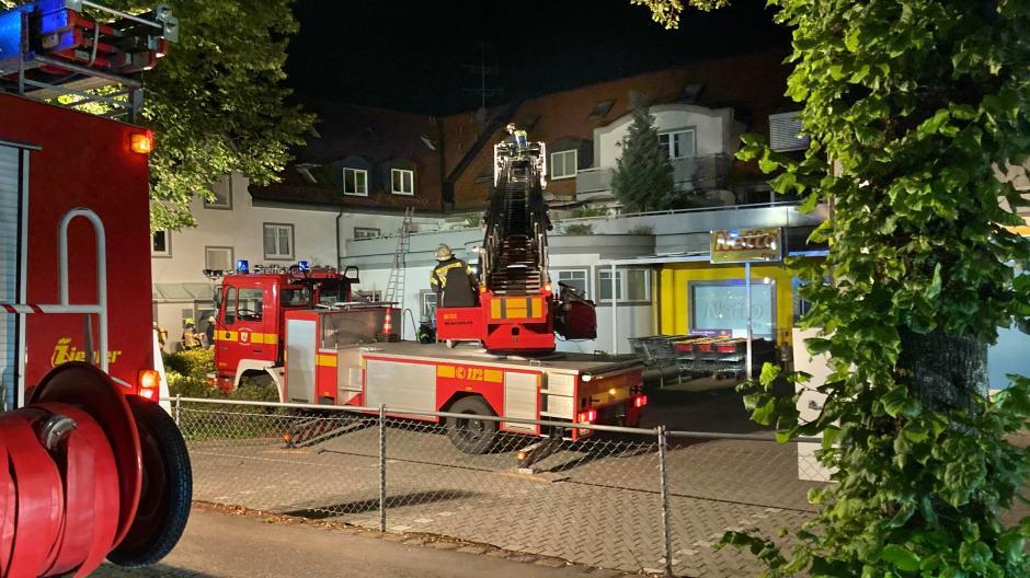 In einem Greifenberger Wohn- und Geschäftshaus hat es am Wochenende gleich zweimal gebrannt.