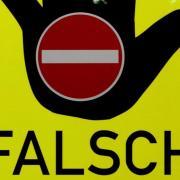 Zwischen Windach und Landsberg ist die Autobahn wegen eines Falschfahrers gesperrt.