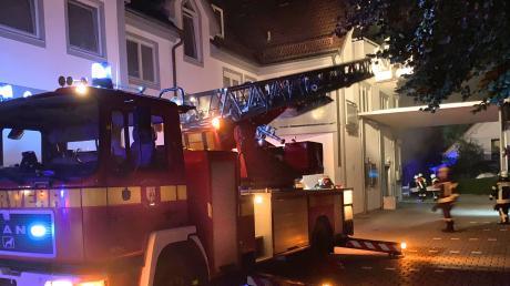 Nach den Bränden in Greifenberg hat die Polizei eine Tatverdächtige gefasst.