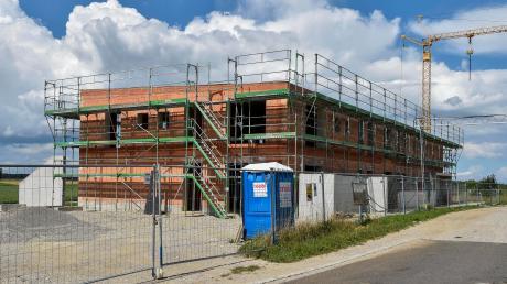 In Weil stehen mehrere Großprojekte auf der Agenda. Unter anderem wird derzeit ein neuer Kindergarten gebaut.