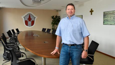 Alexander Ditsch war sechs Jahre lang Zweiter Bürgermeister in Prittriching. Seit 1. Mai ist der 47-Jährige Chef im Rathaus und leitet auch die Verwaltungsgemeinschaft.