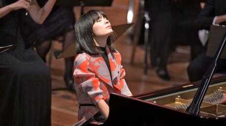 Die Pianistin Alice Sara Ott spielte beim Festival der Nationen in Bad Wörishofen.