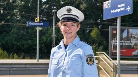 Sina Dietsch aus Geltendorf ist stellvertretende Pressesprecherin der Bundespolizeiinspektion München, die das gesamte S-Bahn-Netz polizeilich betreut.