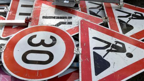 In vier Straße in Walkertshofen soll es künftig Tempo 30 geben.