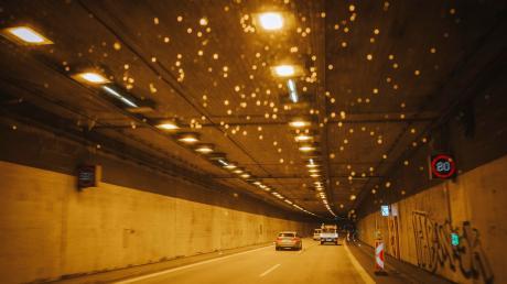 Die Tunnel in Eching und Etterschlag werden gewartet.