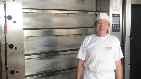 Noch sieben Wochen, dann ist in der Bäckerei Neu in Utting der Ofen aus. Werner Neu geht dann in Ruhestand, dann muss er nicht mehr an jedem Arbeitstag kurz nach Mitternacht aufstehen.