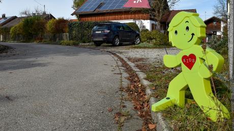 Unter anderem in der Margaretenstraße in Schwifting sollen Autofahrer künftig deutlich langsamer fahren. Dort befindet sich auch der Kindergarten.