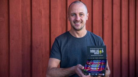 """Mit ihrem """"Vollgas Riegel"""" sicherten sich die Brüder Patrick (Bild) und Marc Grübener ein 150.000-Euro-Engagement des Investors Christopher Obereder."""