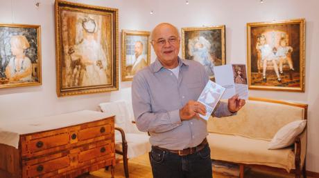 Florian Münzer hat in Holzhausen ein Museum eingerichtet, das die Werke seines Großvaters, des Malers und Zeichners Adolf Münzer, zeigt.
