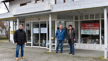 Mehr als 30 Jahre lang haben Benedikt und Monika Wörishofer im Dorfladen in Unterdießen alles angeboten, was man zum Leben braucht. Bürgermeister Alexander Enthofer (links) und die Gemeinde sind auf der Suche nach einem neuen Pächter.