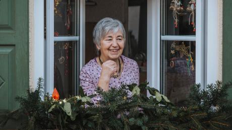 """Marianne Maier, die """"Stille Heldin"""" des Monats Dezember, lebt mitten in Schwabhausen in einem Bauernhaus."""