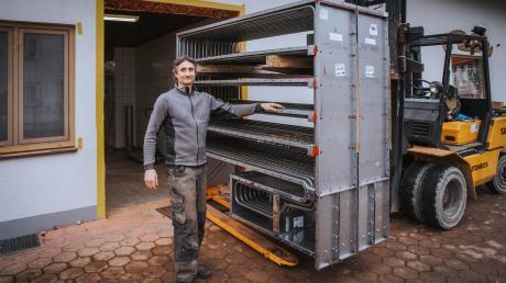 Das ist einer der beiden neuen Pelletsbacköfen in der Bäckerei Pfatischer in Unterdießen: Werner Pfatischer hat viel investiert – was auch der Umwelt zugutekommt.