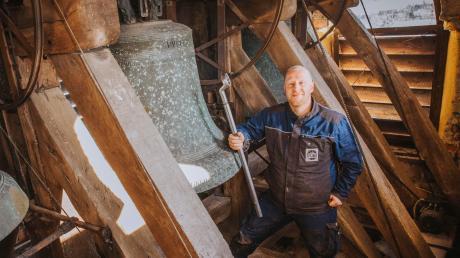Richard Eisele ist Spezialist für Kirchturmuhren, Glocken und Schlagwerke. Der Scheuringer entdeckte seine Leidenschaft eher durch Zufall.