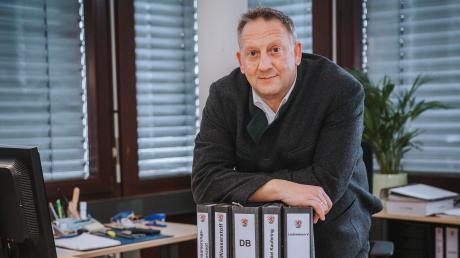 Für Bürgermeister Thomas Salzberger gab es 2020 mehrfach Grund zur Freude.