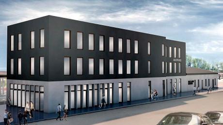 Am Geltendorfer Bahnhof soll, geht es nach den Wünschen des Bauwerbers, ein Co-Working-Space entstehen.