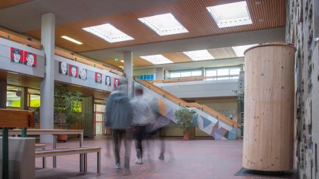 Mit der Generalsanierung der Mittelschule in Kaufering soll heuer begonnen werden.
