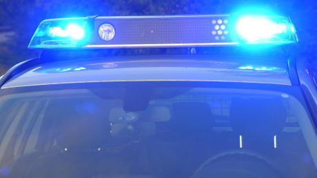 Die Polizei Nördlingen wurde am Samstag zu einem Unfall in Baldingen gerufen.