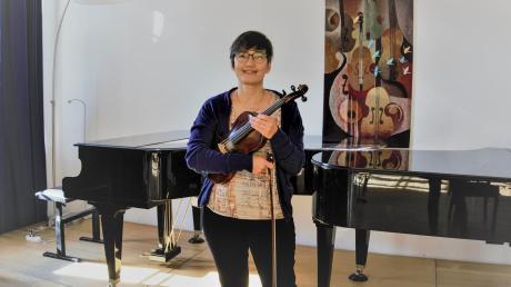 Birgit Abe ist die neue Leiterin der städtischen Sing- und Musikschule in Landsberg.