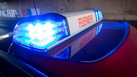 Die Feuerwehr musste am Dienstagabend einen Brand in Pfaffenhofen löschen.
