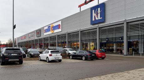Die K&L-Filiale im Landsberger Fachmarktzentrum.