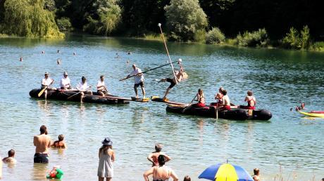 Das Fischerstechen wurde zum Ersatz für den Triathlon in Penzing.