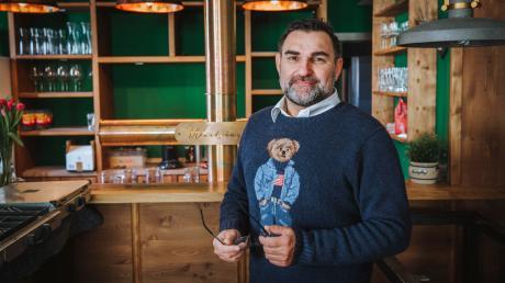 Claus Moritz ist Stadtrat und Gastronom in Landsberg.