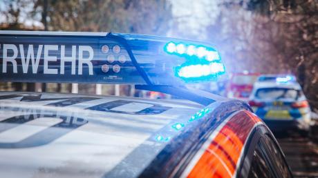 Hoher Sachschaden ist am Dienstagmorgen bei einem Verkehrsunfall bei Igling entstanden.