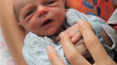 Felix wurde im vergangenen Jahr im Klinikum Landsberg geboren.